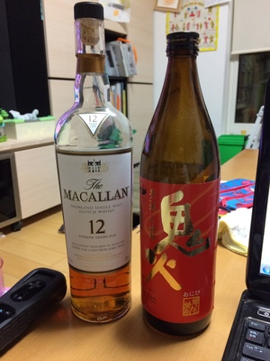 マッカラン&鬼火